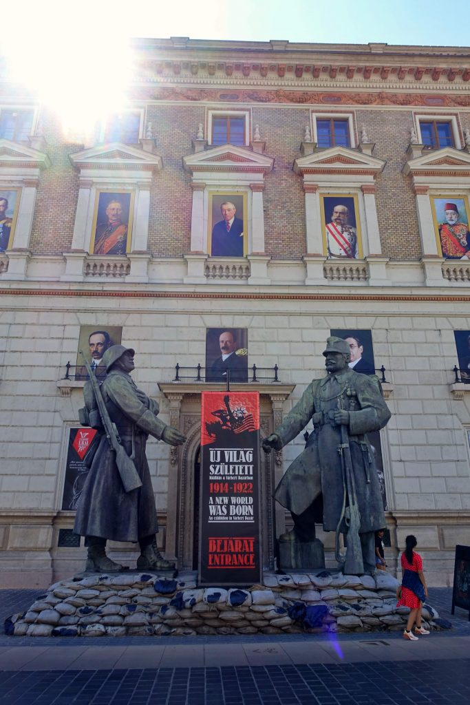 Exhibition entrance, Budapest