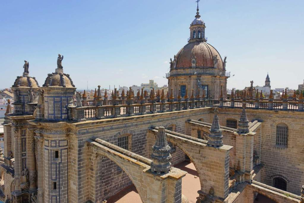 Rooftops of Jerez Cathedral