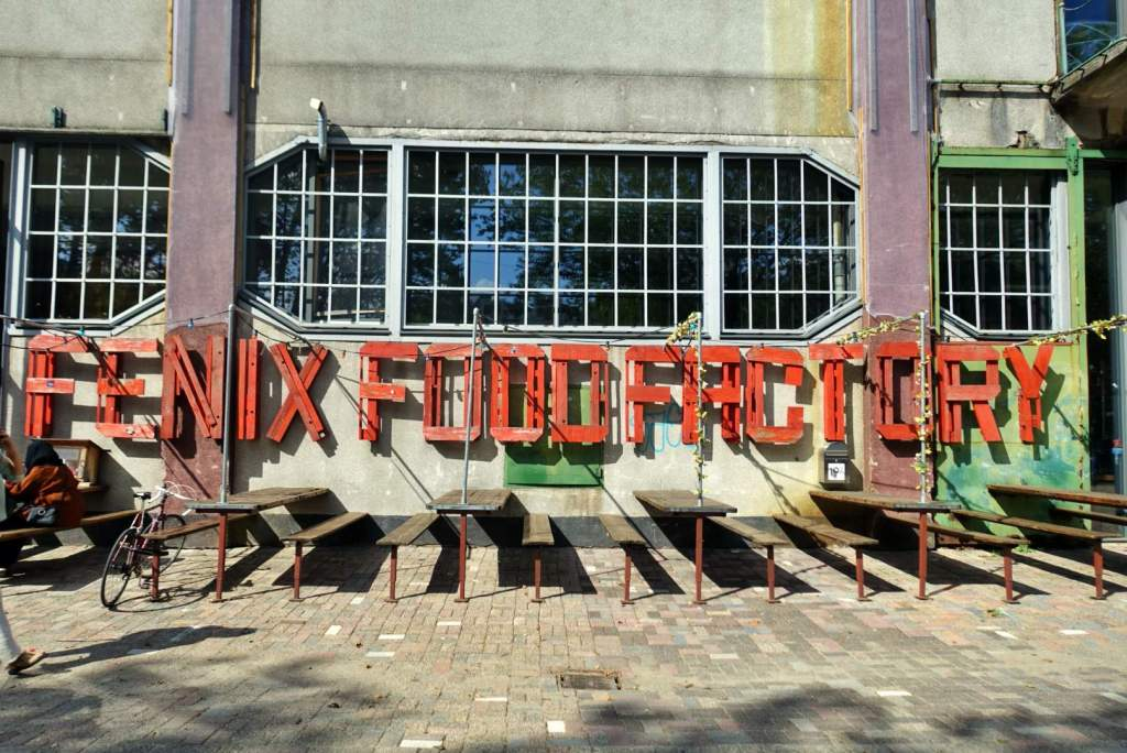 Fenix Food Factory sign