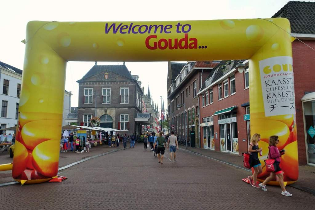 Gouda Welcome Archway