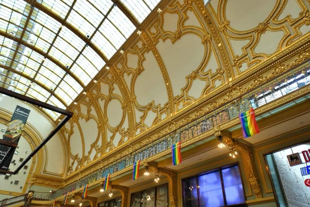 Interior of Stadsfeestzaal, Antwerp