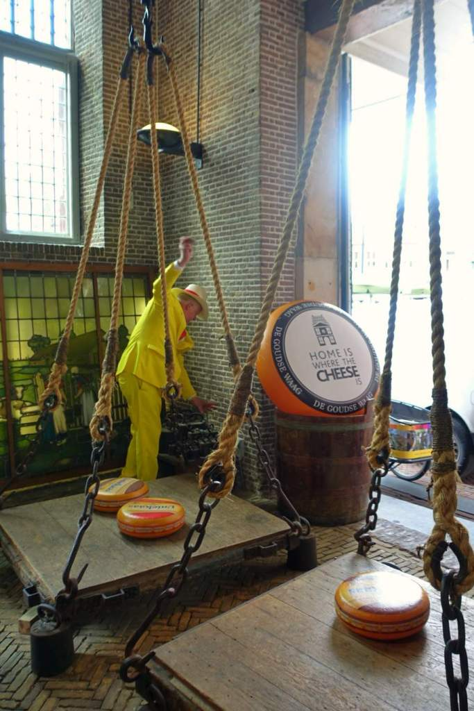 Weighing scales in the Waag