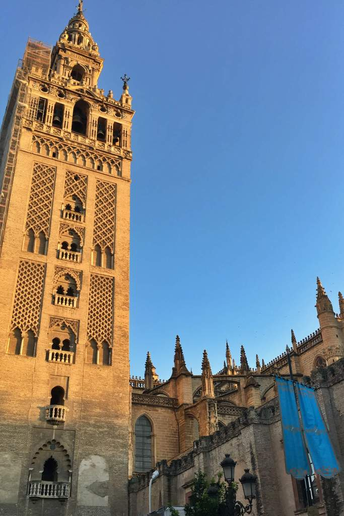 Giralda at golden hour