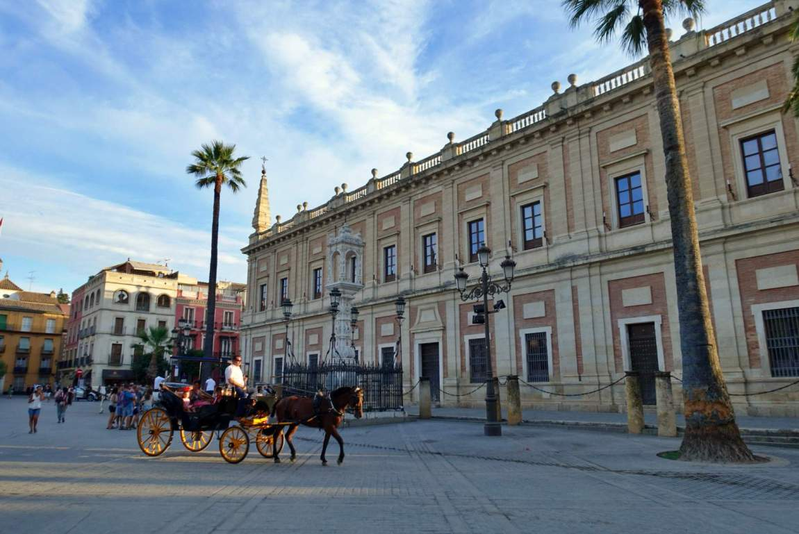 Horse & cart in Seville