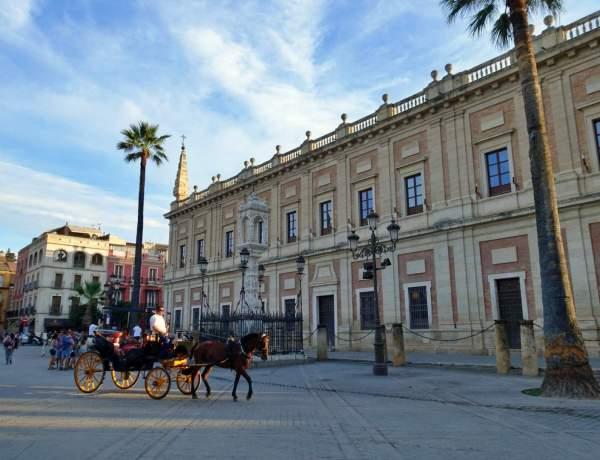 Horse & cart in Seville