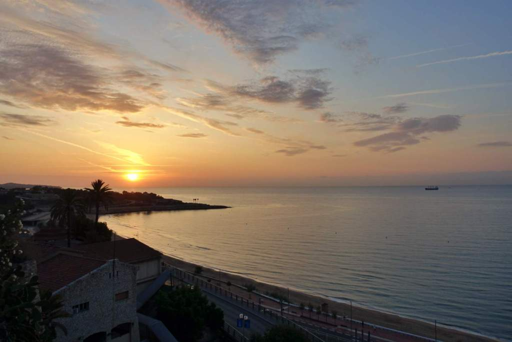 Sunrise in Tarragona