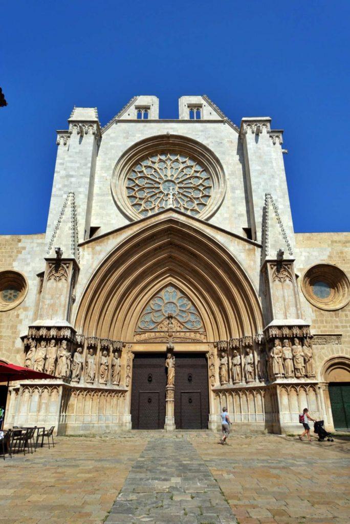 Tarragona Cathedral entrance