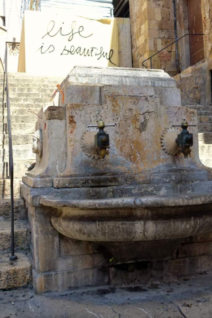 Tarragona fountain