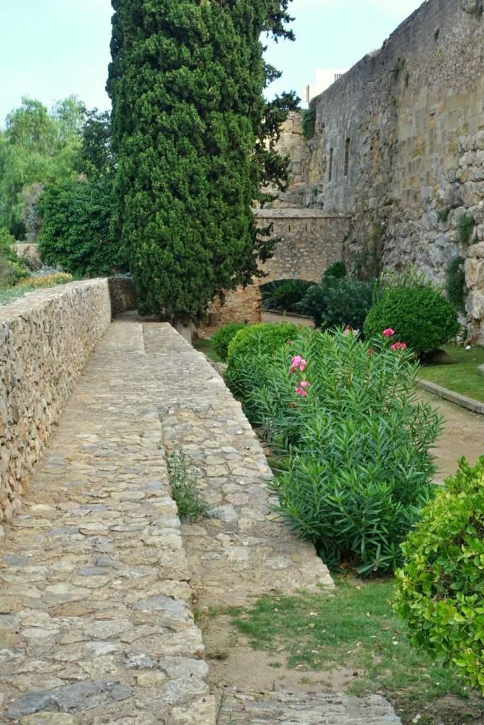 Tarragona old city walls