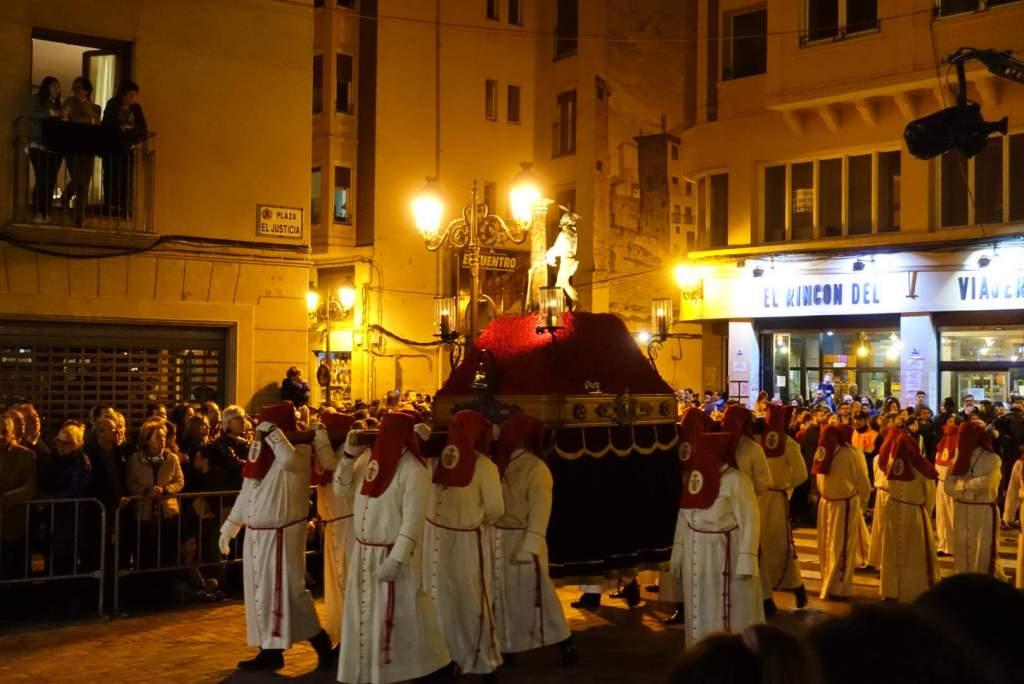 Semana Santa with float