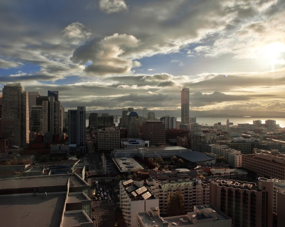 View from the 29th Floor of the IntenContinental San Francisco