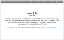 Steve Jobs Obituary - Apple