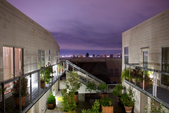 View of San Francisco from my kitchen