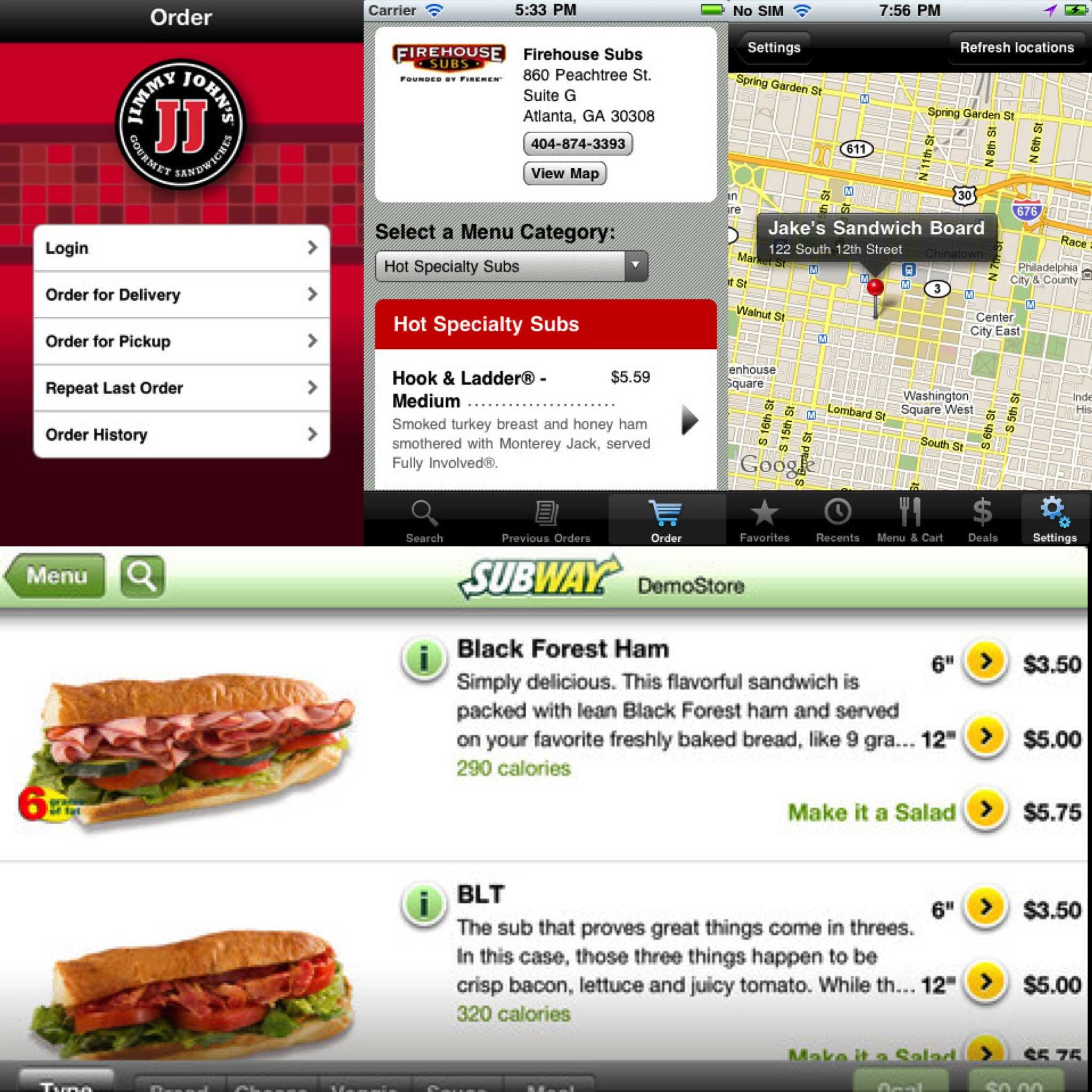 Rethinking The Ike's Place IPhone Application