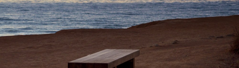 Empty Bench at Sunset Cliffs