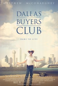 Poster for 2014 Oscars hopeful Dallas Buyers Club