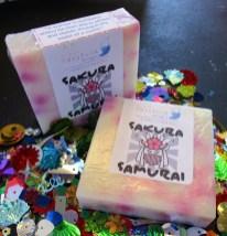 Sakura Samurai Asian Blossom Handmade Bar Soap (2)