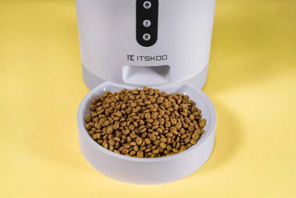 ITSKOO Smart Automatic Pet Feeder C.D.4