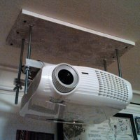 How To Make A Homemade Projector Ceiling Mount - Homemade ...