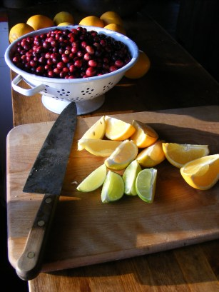 raw cranberry relish