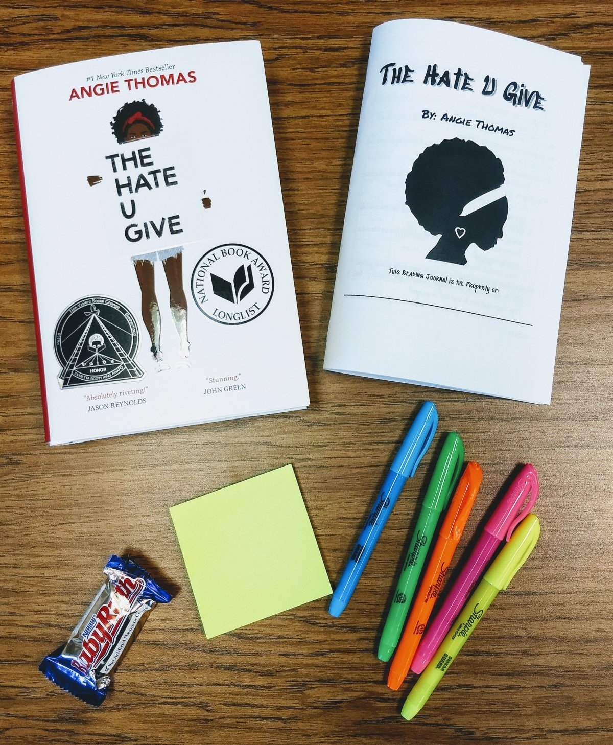 Supplies for annotating a text