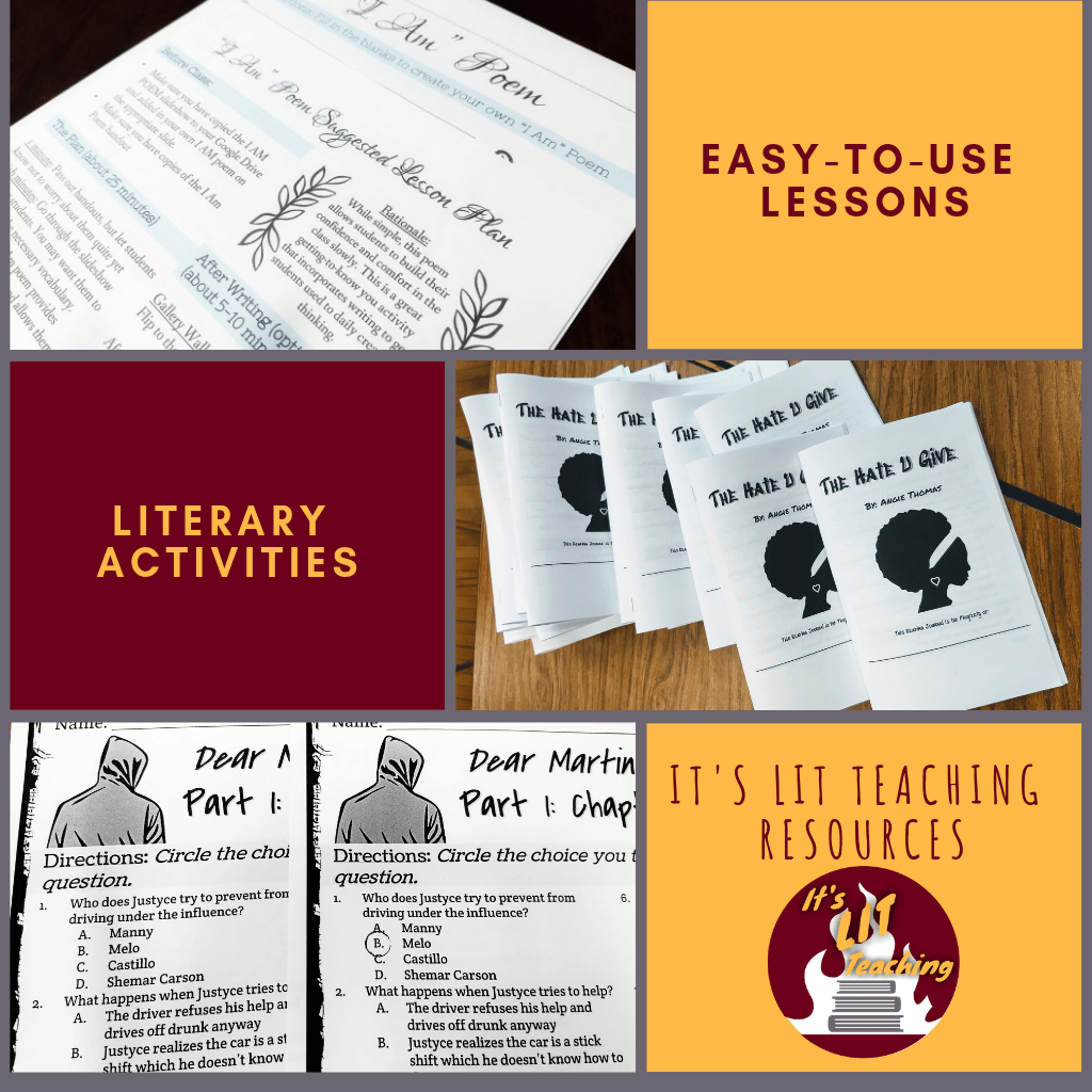 It's Lit Teaching Easy to Use Lesson Ad
