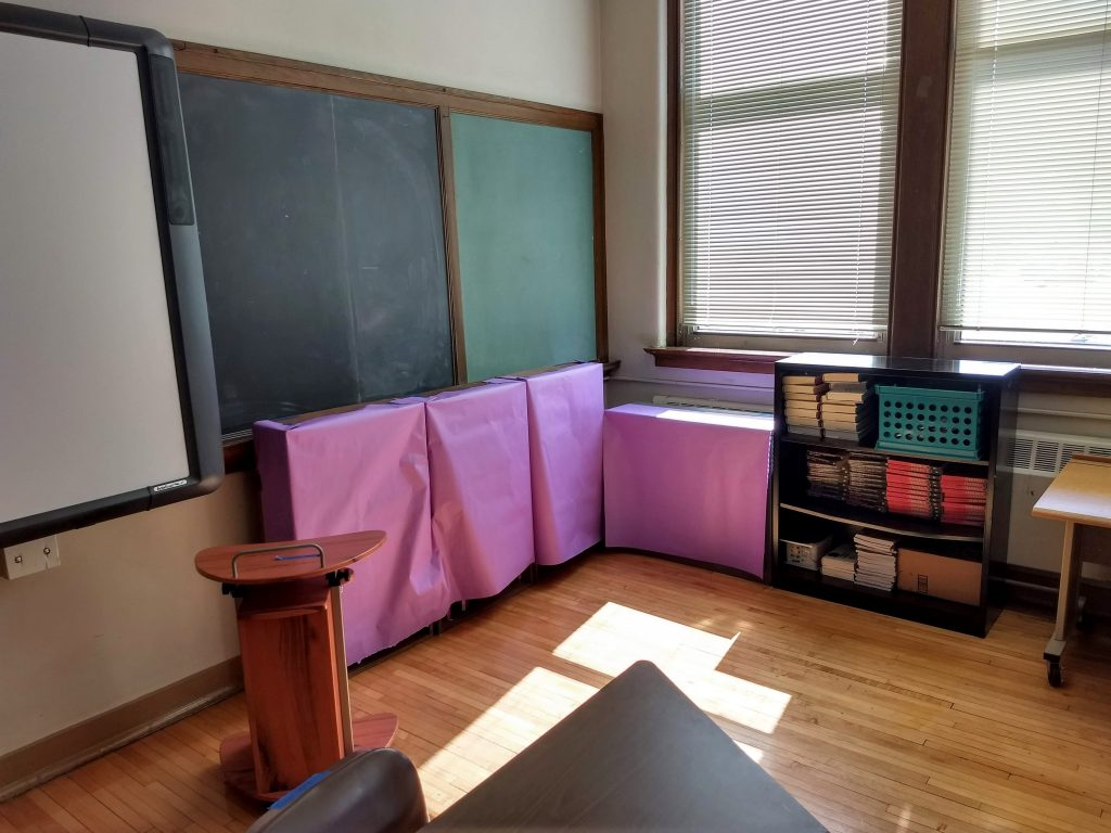 My classroom at the end of the year