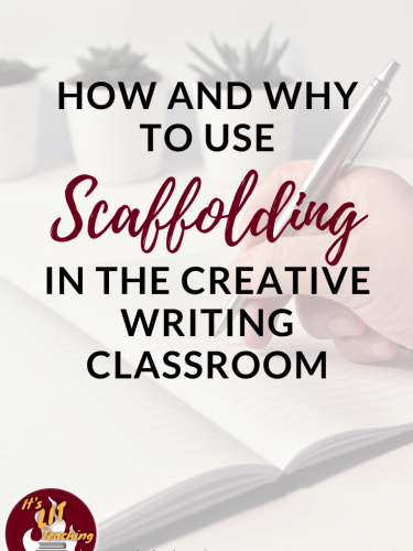 How and Why to Use Scaffolding Worksheets in the Creative Writing Classroom