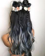 festival hair braids and buns