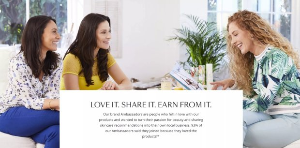 Tropic Ambassador advert