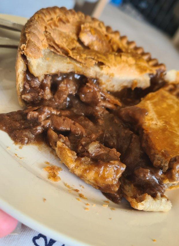 Chunky Steak Pie from the radfords pie company