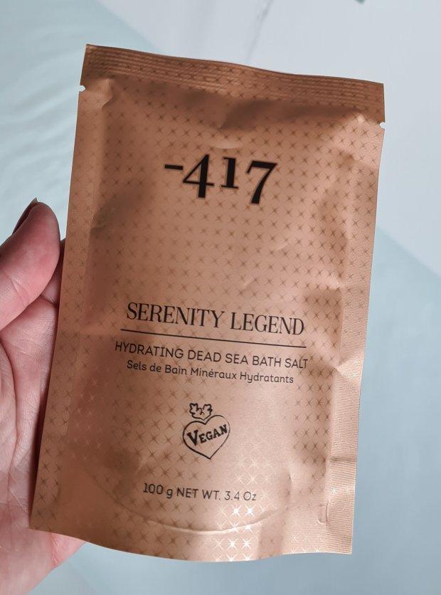 minus 417 Serenity Legend Hydrating Dead Sea Bath Salts