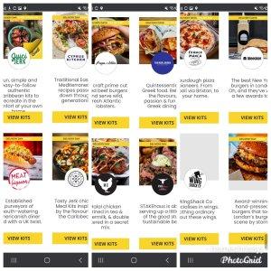 Restaurants available on great food 2 u