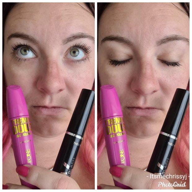 Oriflame mascara comparison