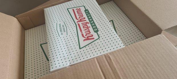 Krispy Kreme home delivery