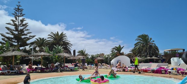 Travelling to Spain during Covid hotel village lanzarote