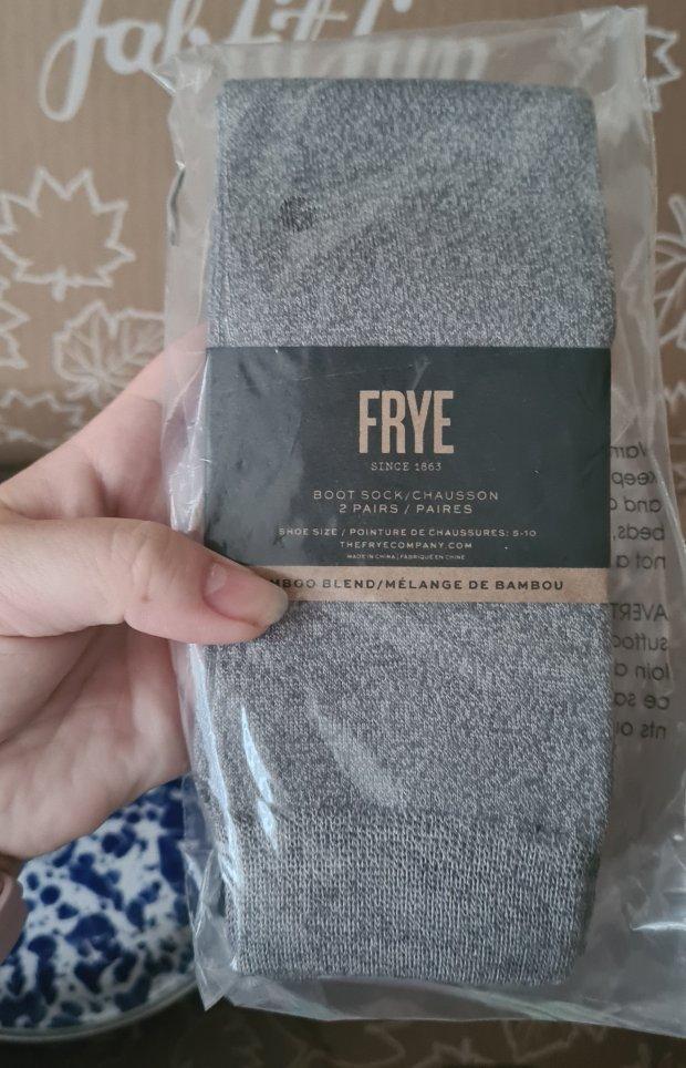 FRYE boot socks