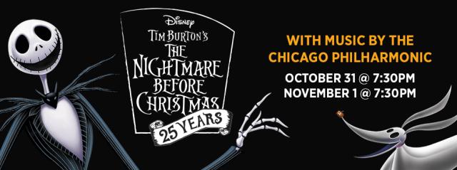Chicago Halloween Philharmonic Does Nightmare Before Christmas   It's Megan Blog   #halloween #chicago #timburton #halloween2018 #NightmareBeforeChristmas