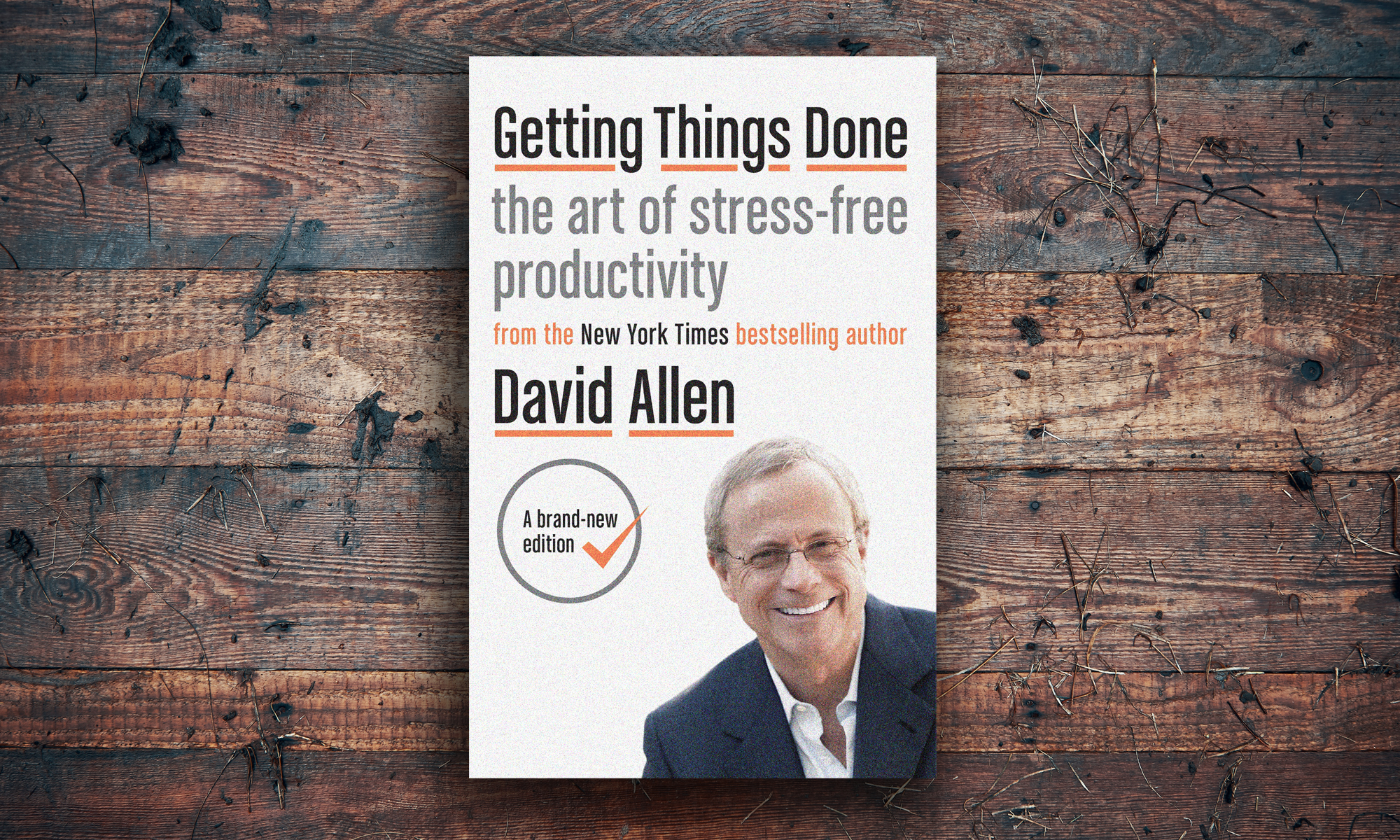 """Cover of the book """"Getting Things Done"""" by David Allen"""