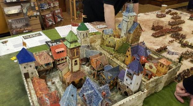 A model castle