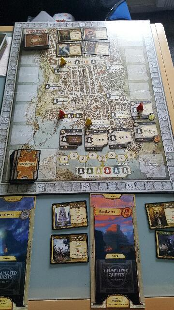 Lords of Waterdeep gameboard