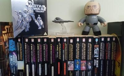 Star Wars books, DVDs, Armada Gladiator and Grand Moff Tarkin