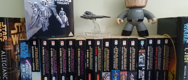 Star Wars books, DVDs, Armada Gladiator and Grand Moff Tarkin