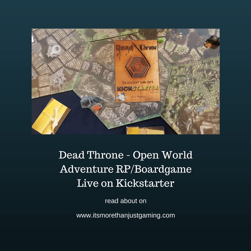 Dead Throne - Fantasy Open World RP/Boardgame