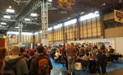 UK Game Expo 2017 NEC Hall 1