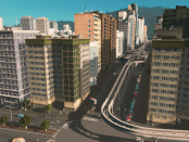 Monorails are a new addition in the Mass Transit DLC of Cities Skylines. They aren't massively better than metro stations but they do look awesome