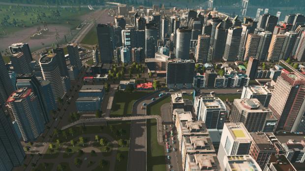 Cities Skylines University and Hospital