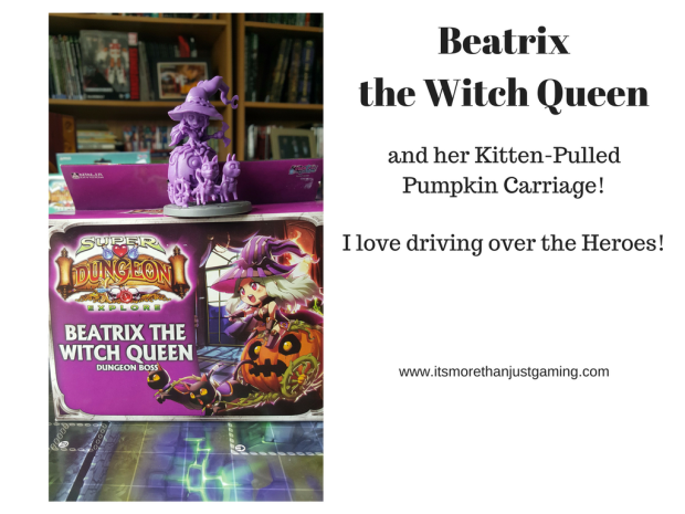 Beatrix the Witch Queen is my favourite Boss in Super Dungeon Explore
