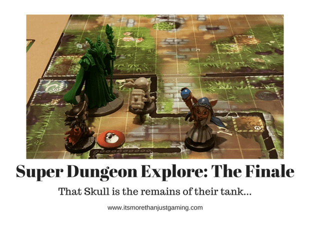 The Super Dungeon Explore Finale with Forgotten King, Star Guild Sapper, Tabbybrook Mage and Cursed Captain
