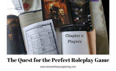 this is the cover page for my blog post bout finding the right players for any rpg